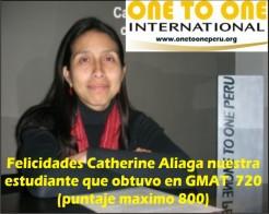 Catherine GMAT